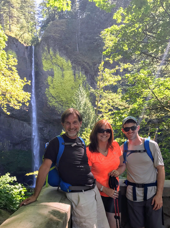 My parents and I in Oregon